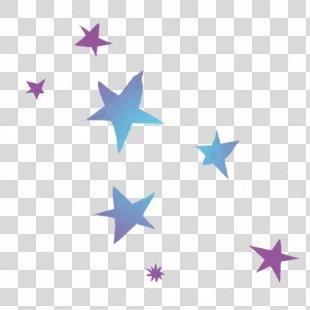 Paper Gold Star Yellow Wallpaper - Estrellitas PNG