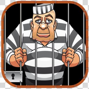 Prisoner Cartoon Crime - Jail PNG