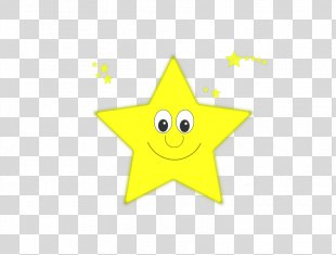 Smiley Cartoon Text Yellow Illustration - Cartoon Star Pictures PNG