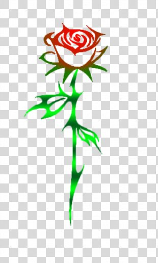 Tattoo Tribe Drawing Rose Clip Art - Thorns PNG