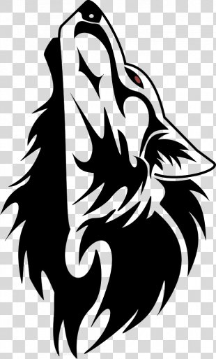 Gray Wolf Tattoo Ink Tribe Drawing - Wolf PNG