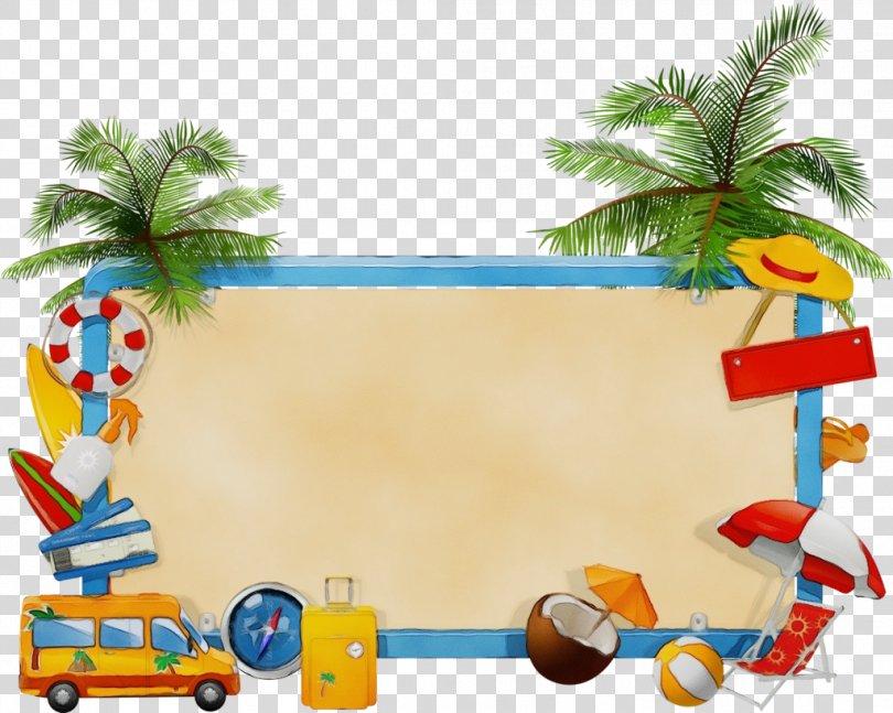 Summer Palm Tree, Art Palm Tree PNG