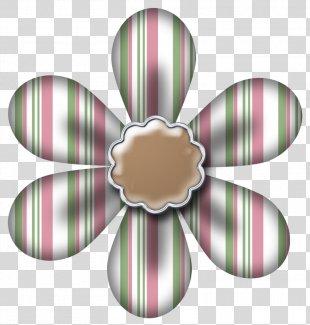 Digital Scrapbooking Paper Clip Art - Paper Flowers PNG