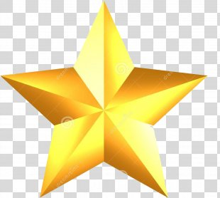Stock Photography Gold Star Clip Art - Gold PNG
