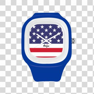 Flag Of Thailand Flag Of The United States Watch Strap - American Flag PNG
