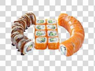 Makizushi Sushi Pizza California Roll Tempura - Sushi PNG
