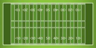 American Football Field Clip Art - Football Stadium Cliparts PNG