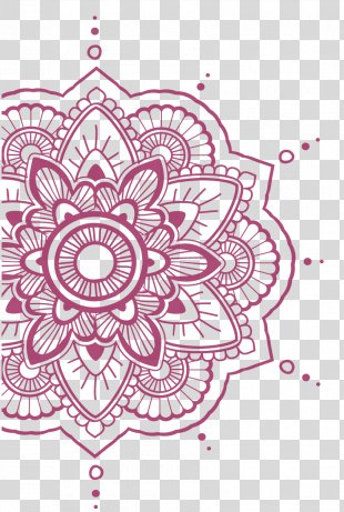 Mandala Drawing Coloring Book Tattoo Design - Design PNG