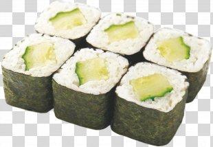 Makizushi Sushi California Roll Pizza Unagi - Sushi PNG