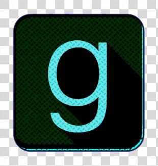 Books Icon Ebooks Icon G Icon - Electric Blue Symbol PNG