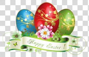 Easter Postcard Easter Egg Egg Decorating Clip Art - Happy Easter Images Message PNG