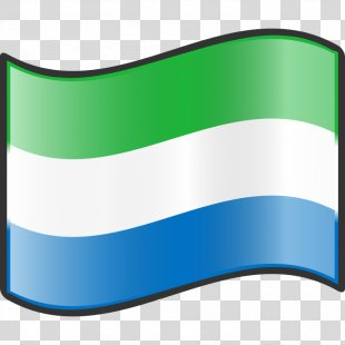 Flag Of Sierra Leone Nuvola Clip Art - Government Of Sierra Leone Logo PNG