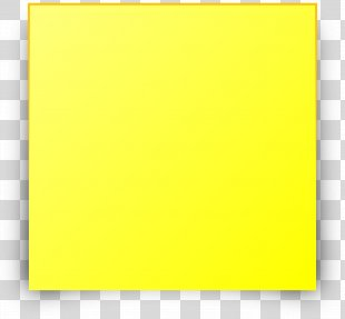 Post-it Note Square Area Angle - Sticky Note PNG
