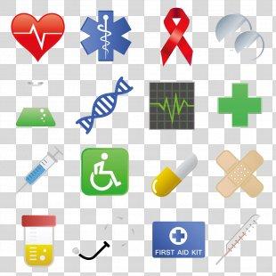 Medicine Icon Design Health Care Icon - Vector Medical Icon Design PNG