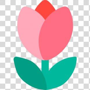 Emoji Tulip Flower Sticker Text Messaging - Emoji PNG