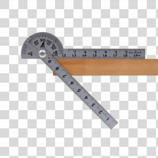 Protractor Measuring Instrument Ruler Measurement Angle - Protractor And Compas PNG