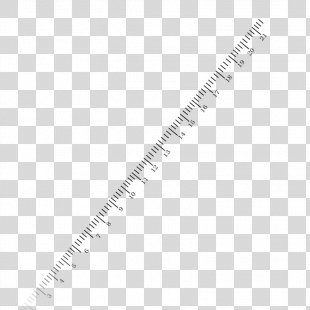 Straightedge Ruler Icon - Scale Ruler PNG