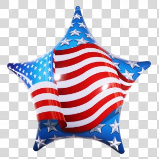 Flag Of The United States American Revolution Balloon Star - American Flag PNG
