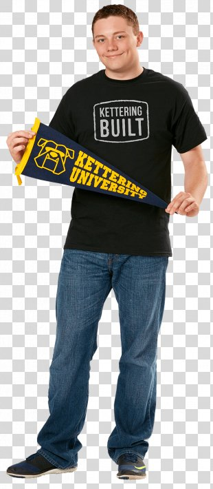 Kettering University Student Academic Degree Clothing - A College Student Wearing A Bachelor's Gown PNG
