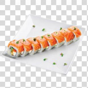 Sushi Japanese Cuisine Makizushi Pizza California Roll - Roll PNG