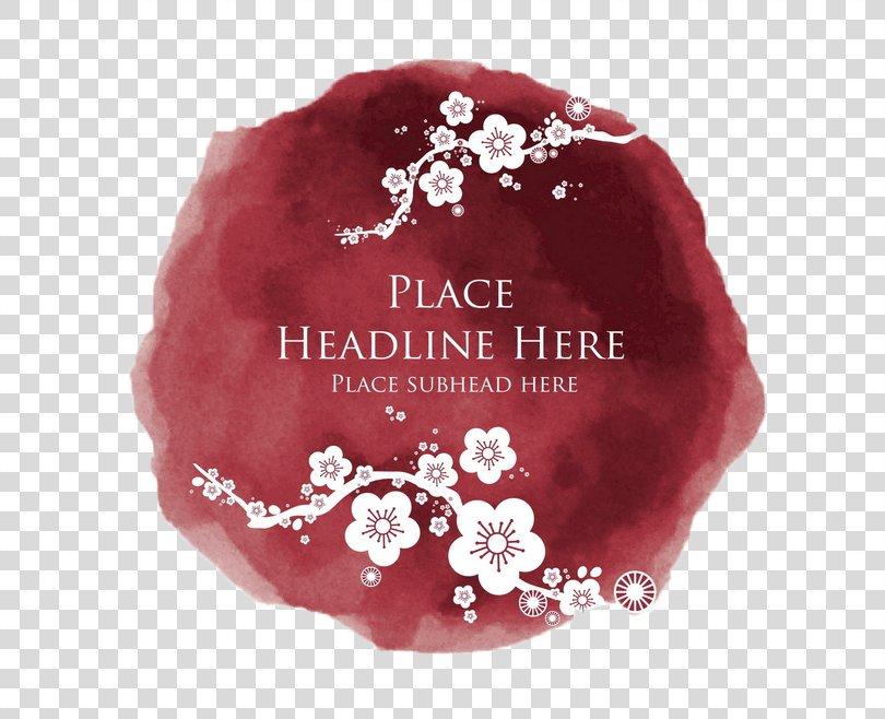Plum Blossom Flower Royalty-free Clip Art, Chinese New Year Decorative Pattern PNG