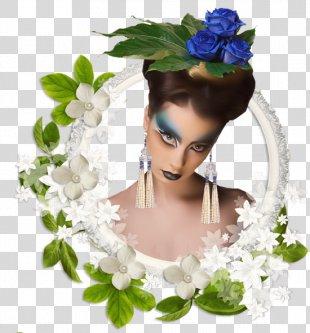 Floral Design Picture Frames Film Frame - Design PNG