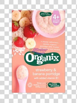 Porridge Baby Food Organic Food Breakfast Cereal Congee - Apple PNG