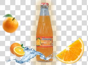 Orange Soft Drink Clementine Orange Drink Fizzy Drinks Orange Juice - Orange PNG