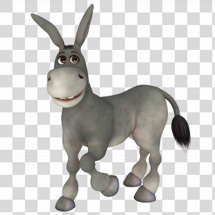 Donkey Mule Cartoon - Donkey PNG