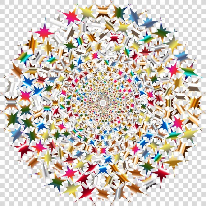 Fractal Color Circle Clip Art, Iridescent Cloud PNG
