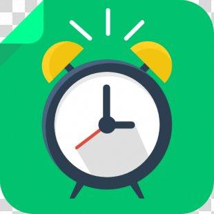 Alarm Clock Area Circle - Alarm Clock PNG