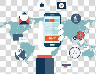Mobile App Development Application Software Mobile Phone App Store - Mobile Application Software PNG