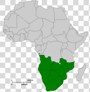 Africa Blank Map World Map The Power Of Maps - Africa PNG