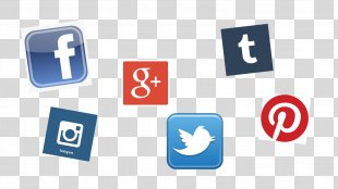 Social Media Icons - Social Media Vectors PNG