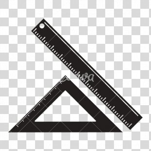 Ruler Pictogram Measurement School - Ruler PNG