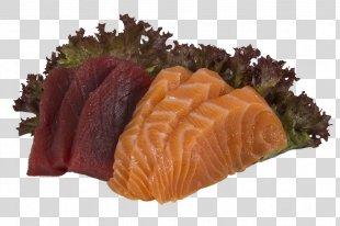Sashimi Smoked Salmon Sushi Surimi Unagi - Sushi PNG