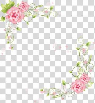 Borders And Frames Flower Clip Art - Flower PNG