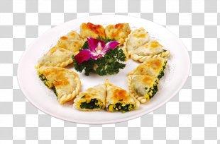 Pizza Vegetarian Cuisine Chinese Cuisine Spanakopita Jeon - Pizza Volume Children PNG