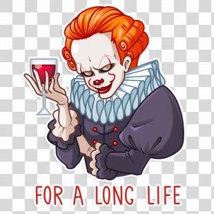 It Evil Clown Drawing - It Clown PNG