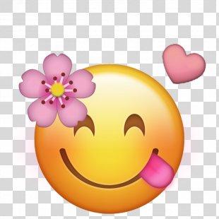 Emoji IPhone Flower Image Emoticon - Emoji PNG
