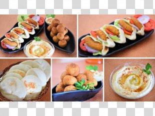 Hors D'oeuvre Lebanese Cuisine Breakfast Kebab Falafel - Breakfast PNG