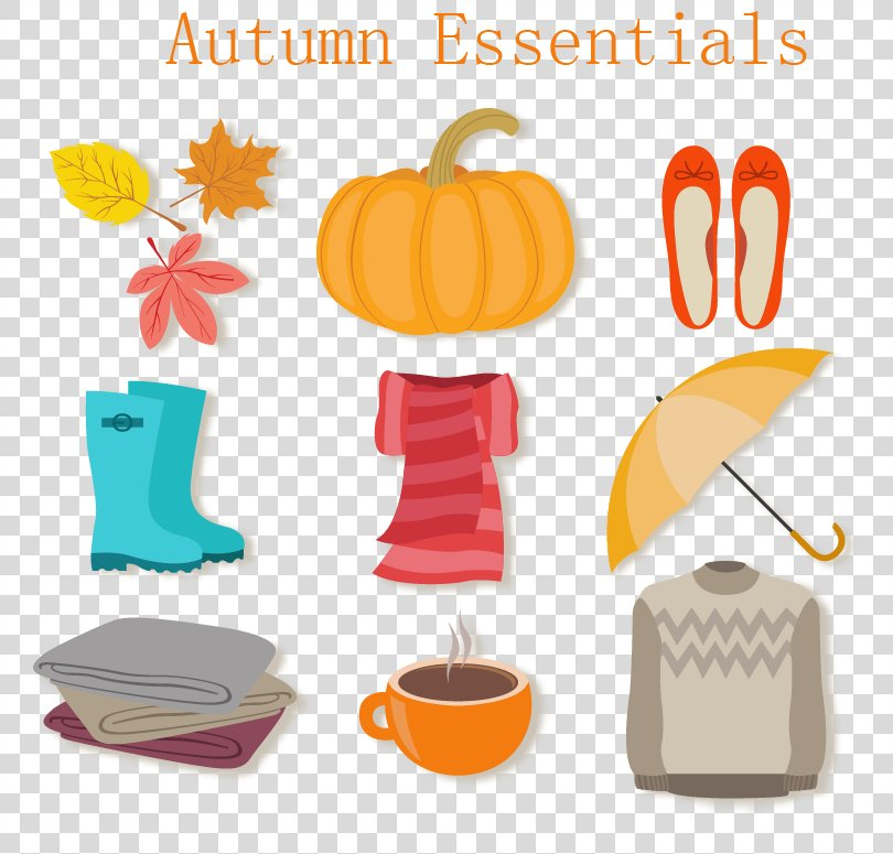 Element Download Icon, Autumn Icon Element Vector Material PNG