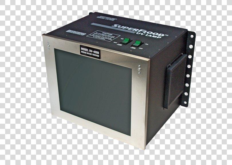 Blacklight Ultraviolet Nondestructive Testing Lamp, Light PNG