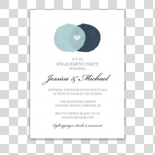 Wedding Invitation Teal Turquoise Font - Birthday Invitation PNG