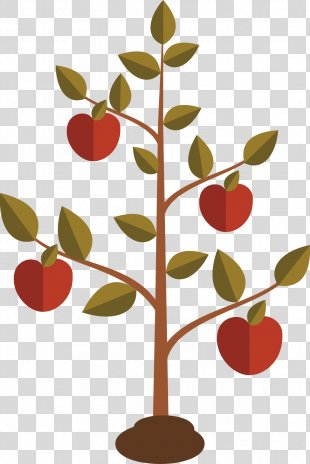 Books Of Samuel Chapters And Verses Of The Bible New International Version 2 Samuel 7 - Flat Design Of Apple Tree PNG