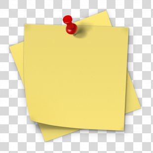 Post-it Note Paper Sticker Sticky Notes Adhesive - Sticky Note PNG