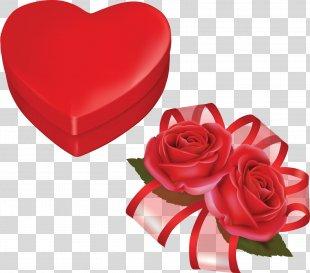 Heart Valentine's Day Desktop Wallpaper Clip Art - Valentine's Day PNG