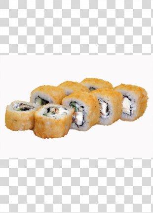Makizushi Sushi Pizza California Roll Japanese Cuisine - Roll PNG
