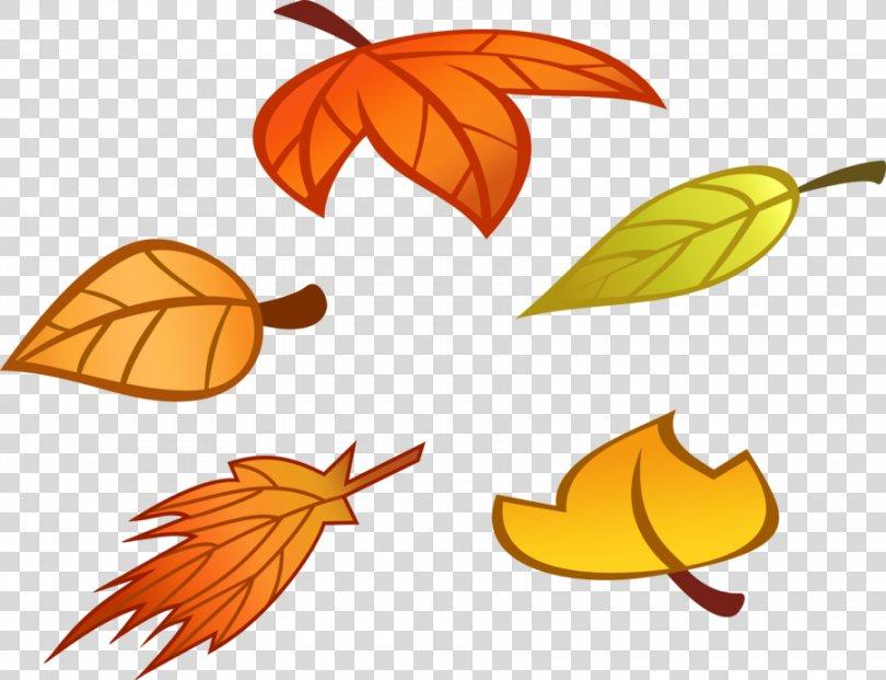 Autumn Leaf Color Clip Art, Fall Leaf Cartoon PNG