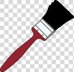 Paintbrush Painting Clip Art - Picture Of Paintbrush PNG
